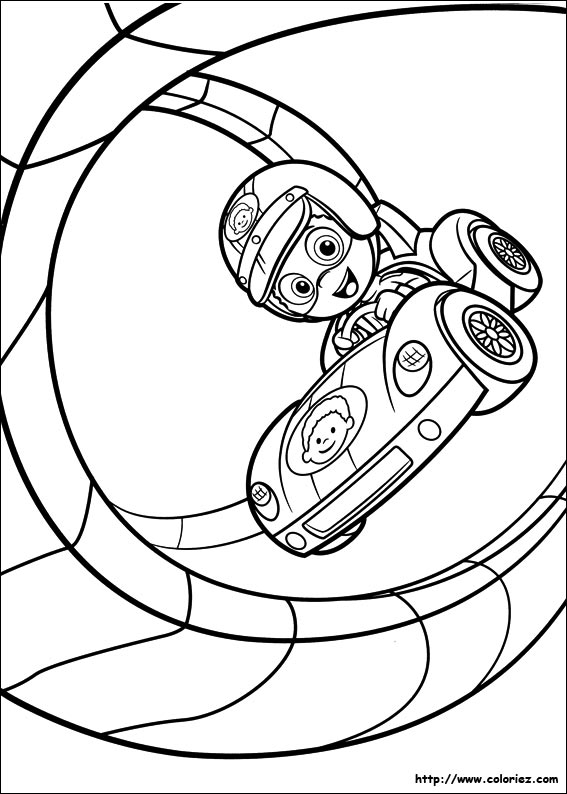 Coloriage looping - Jeux bubble guppies ...