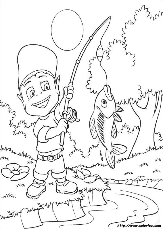 la state freshwater fish coloring pages - photo #17