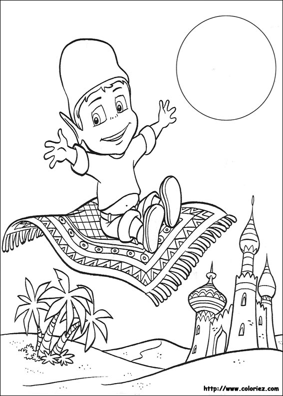 carpet coloring pages - dessin tapis