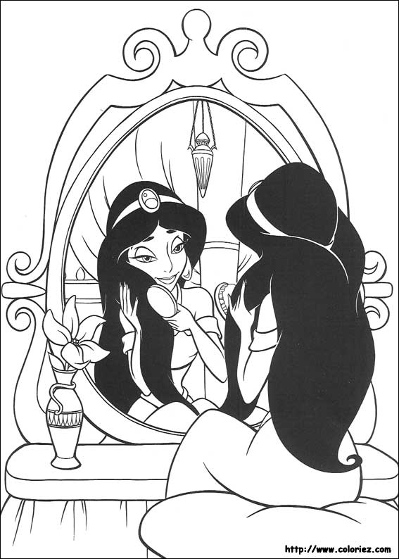 Index Of Images Coloriage Aladdin
