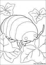 Coloriage du monde hostile d'Arrietty