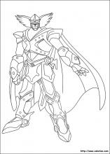 Coloriage de Blue Knight