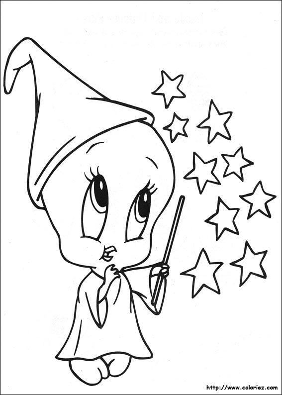 تلوين Coloriage-baby-looney-tunes-7794