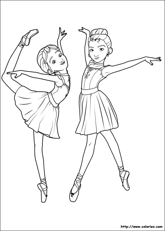 Index Of Images Coloriage Ballerina