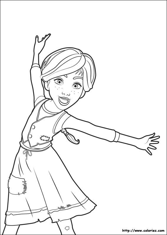 Coloriage felicie danseuse - Coloriage de danseuse ...