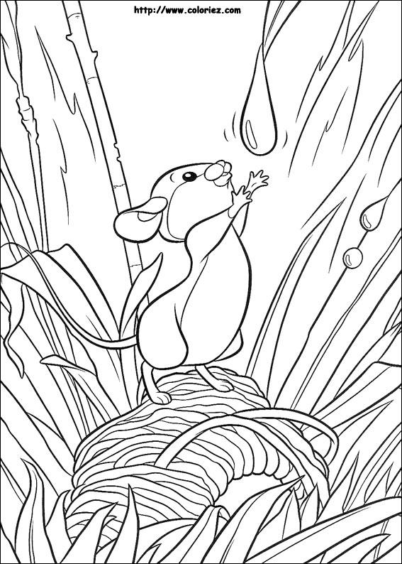 Coloriage une petite souris - Coloriage petite souris ...