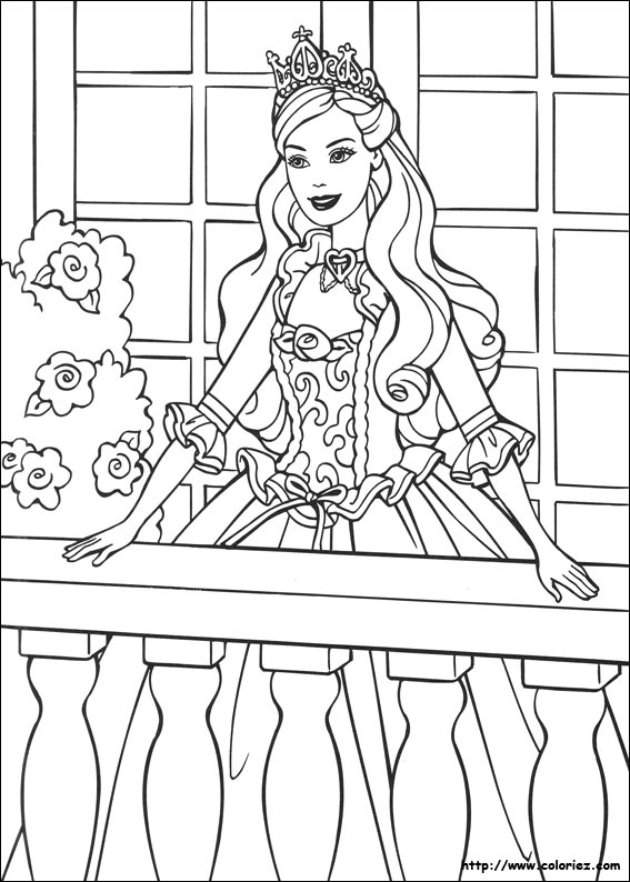 Index Of Images Coloriage Barbie Coeur De Princesse