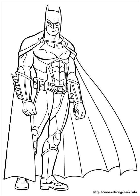 Index of images coloriage batman - Coloriage batman ...