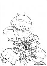Coloriage Ben ten