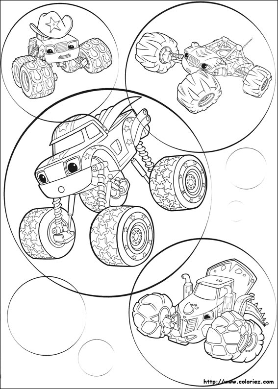 Kleurplaat Monsters En Co Index Of Images Coloriage Blaze Et Les Monster Machines