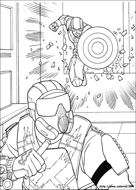 Coloriage Captain America Civil War.Index Of Images Coloriage Captain America Civil War