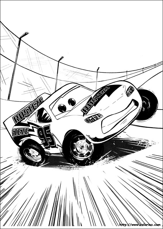 Coloriage Cars.Index Of Images Coloriage Cars 3