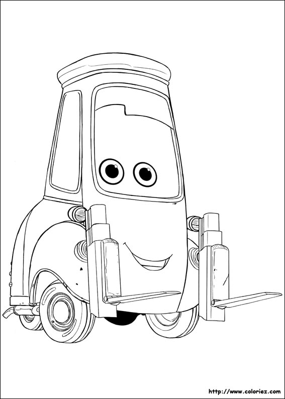 coloriage cars 13809