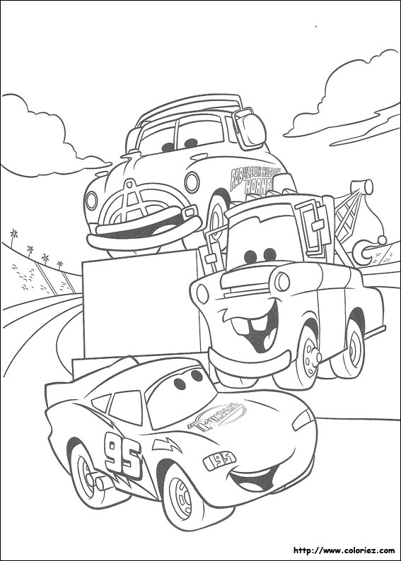 coloriage cars 4387jpg
