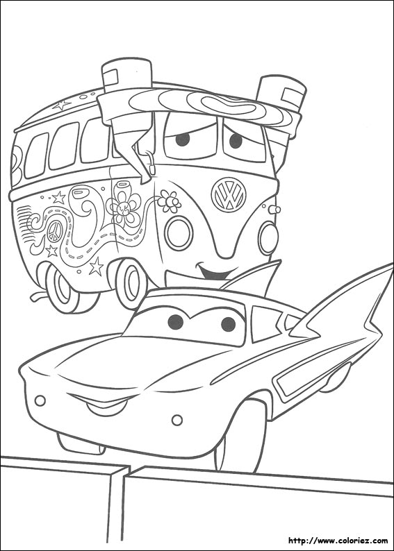 Coloriage Cars Flo.Index Of Images Coloriage Cars