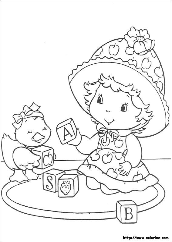 Dessin de charlotte aux fraises - Charlotte aux fraises dessin ...