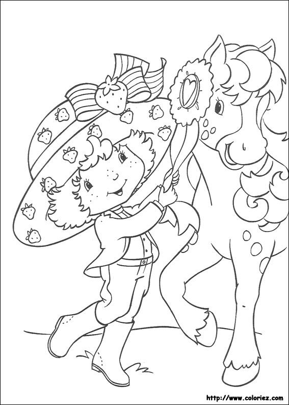 Coloriage coloriage de caramiel - Charlotte aux fraises dessin ...