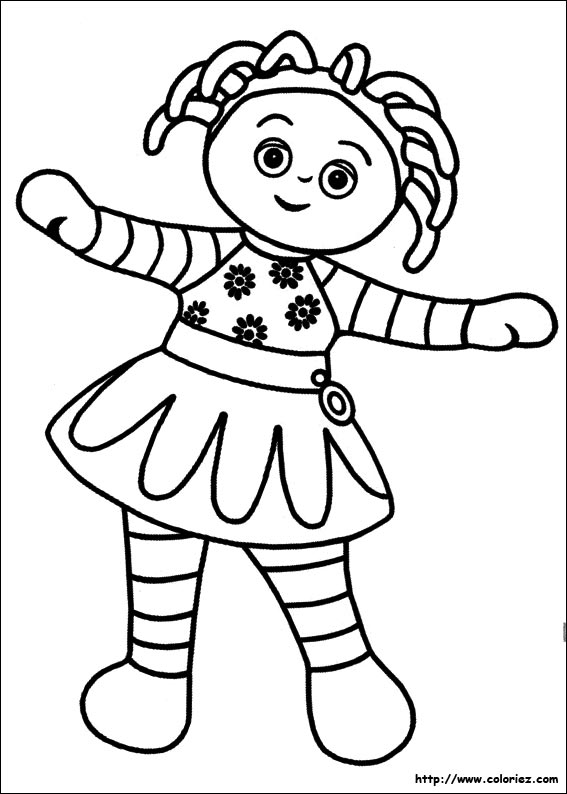 Le piggle coloring pages for Dessin jardin