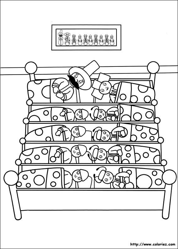 Les pontipines se partagent un lit à dix !