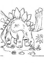 ils trouvent refuge auprs dun groupe de dinosaures voyageant la recherche de la terre des nids trs vite aladar se heurte a kron limpitoyable chef - Dinosaure Colorier