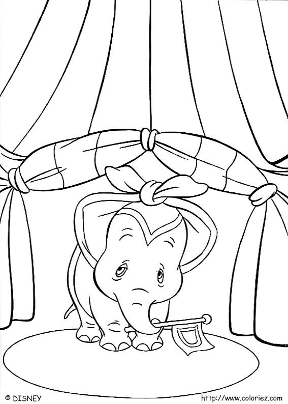Index Of Images Coloriage Dumbo