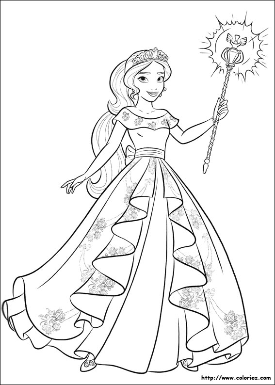 Coloring Pages Of Elena Of Avalor