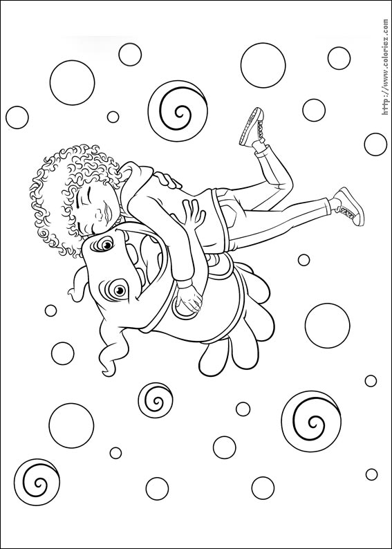 oh home movie coloring pages - photo #20