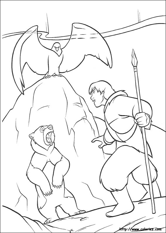 Coloring Pages 169 Brother Bear