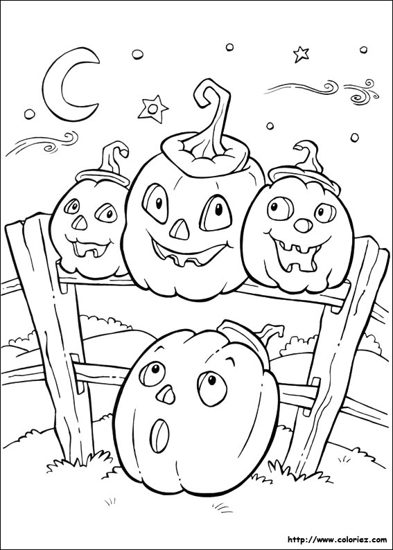 halloween and fall coloring pages - photo #17
