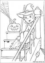 La maison d'halloween
