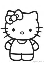 Coloriage de la tete de hello kitty a imprimer - Coloriage tete hello kitty a imprimer ...