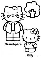 Kitty et grand-père