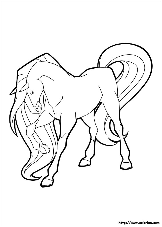 Index Of Images Coloriage Horseland