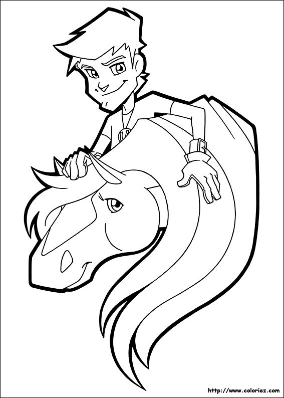 horseland coloring book pages - photo#48