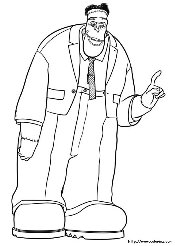 print hotel transylvania coloring pages - photo#21