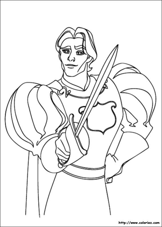 Coloriage le prince edouard d 39 andalasia - Coloriage de prince ...