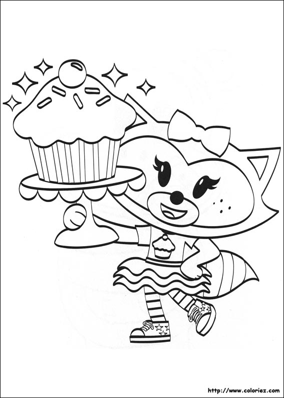 Coloriage cupcakes - Coloriage cupcake ...