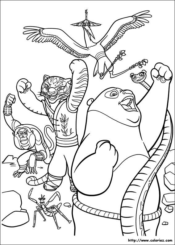 Index Of Images Coloriage Kung Fu Panda 2