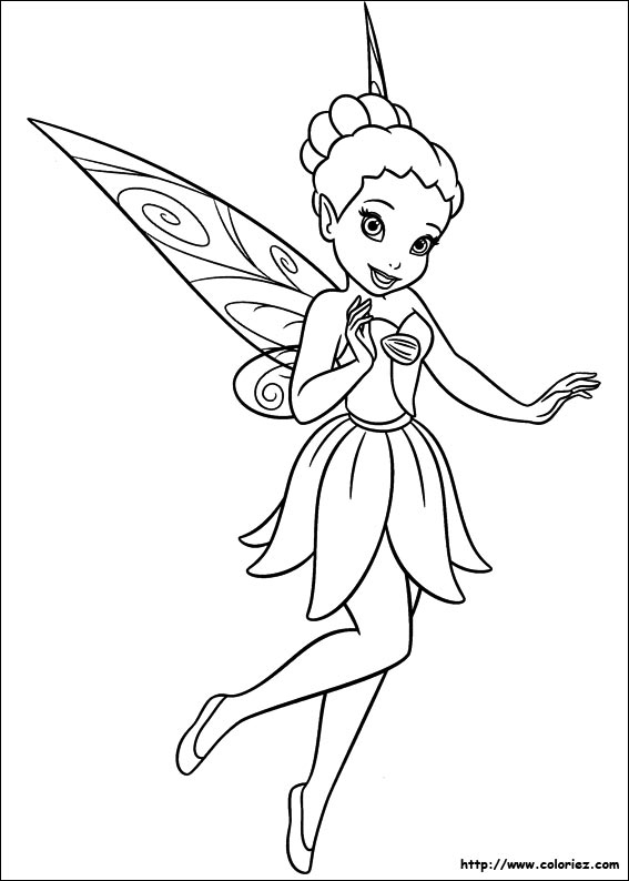 Coloriage f e coquette - Fee coloriage ...