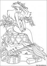 Index Of Images Coloriage La Petite Sirene Miniature