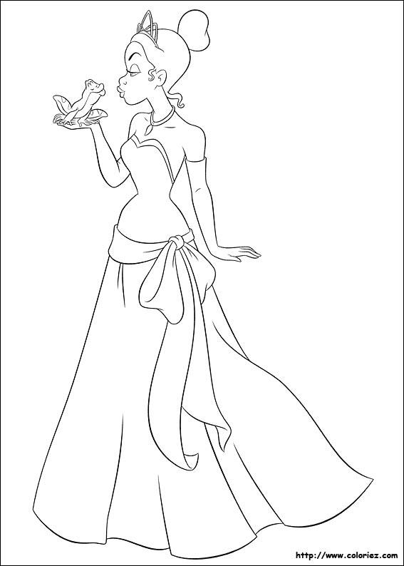 Dessin Des Princesse De Walt Disney