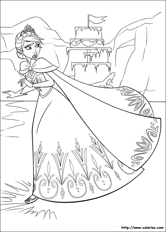 Coloriage Monstre Reine Des Neiges.Index Of Images Coloriage La Reine Des Neiges