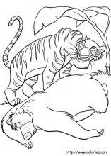 Coloriages Du Livre De La Jungle