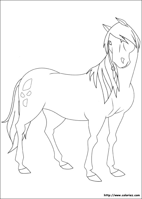 Coloriage jos phine - Dessin du ranch ...