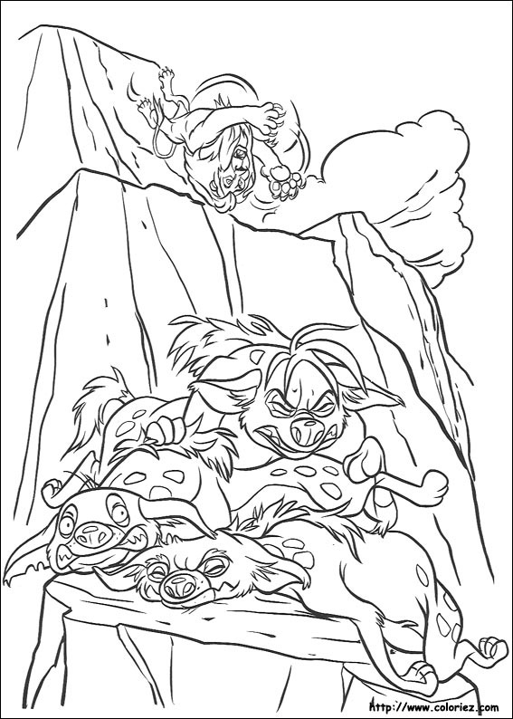 shenzi coloring pages - photo#11