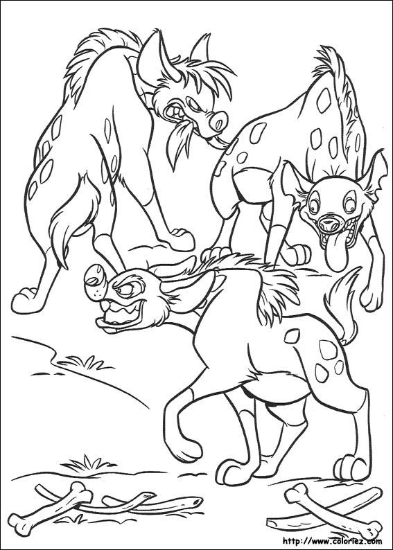les trois hynes les trois hynes le roi mufasa