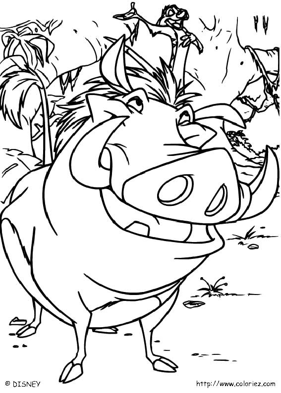 coloriage le roi lio