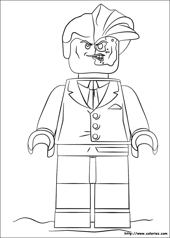 Coloriage lego batman 03 - Coloriage batman ...