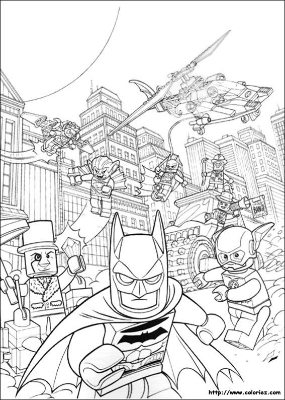 Coloriage lego batman 12 - Dessin de lego city ...