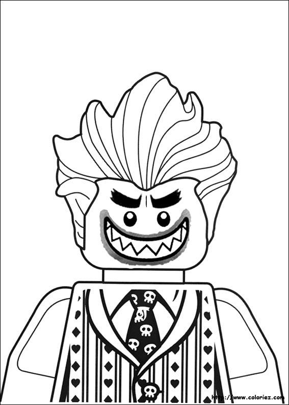 coloriage lego batma - Coloriage Lego